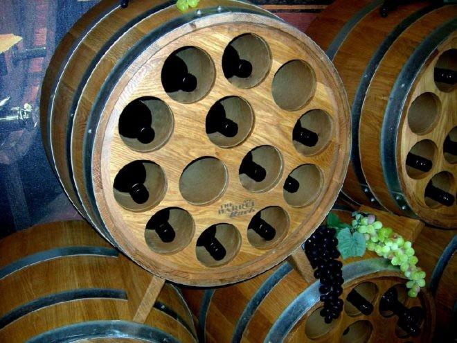 Rack en tonneau - Vin - 4