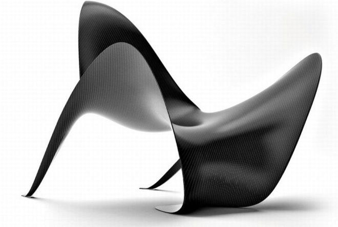 Mobilier en fibre de carbone mast 3 0 for Site mobilier design