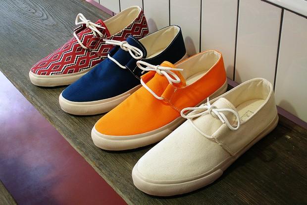 YMC - Canvas Deck Shoe - 2