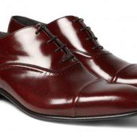 Chaussures en cuir Oxford, par Lanvin