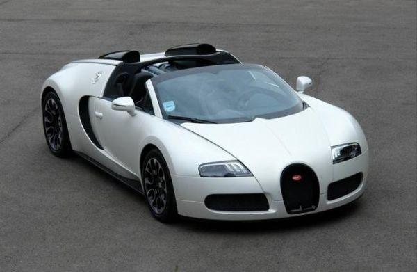 "Bugatti Veyron édition ""Sang Blanc"" - 1"