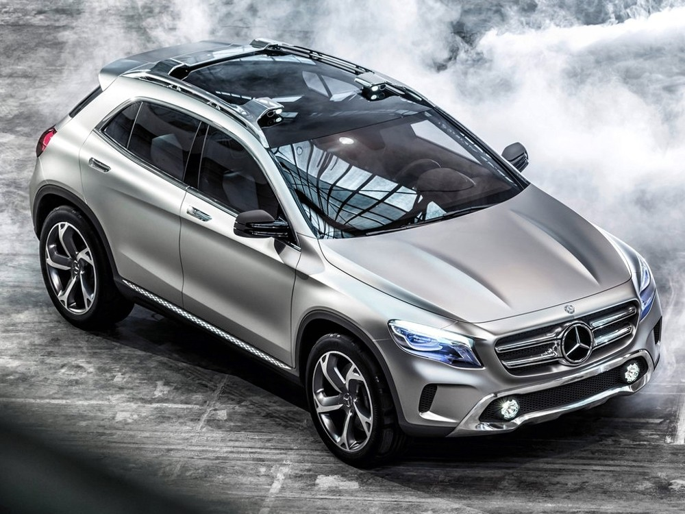mercedes benz gla concept. Black Bedroom Furniture Sets. Home Design Ideas
