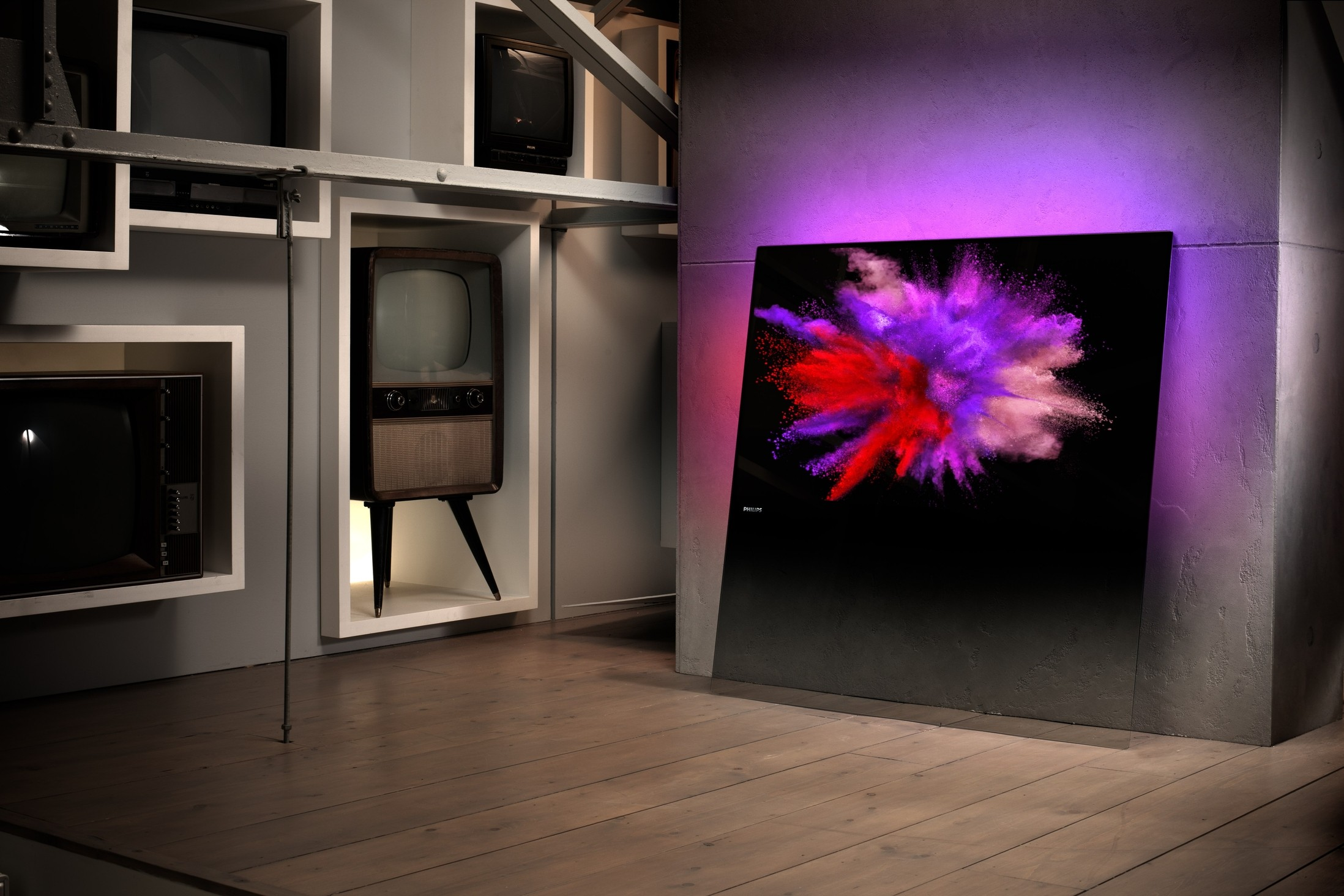 t l viseur philips designline 55 pouces. Black Bedroom Furniture Sets. Home Design Ideas