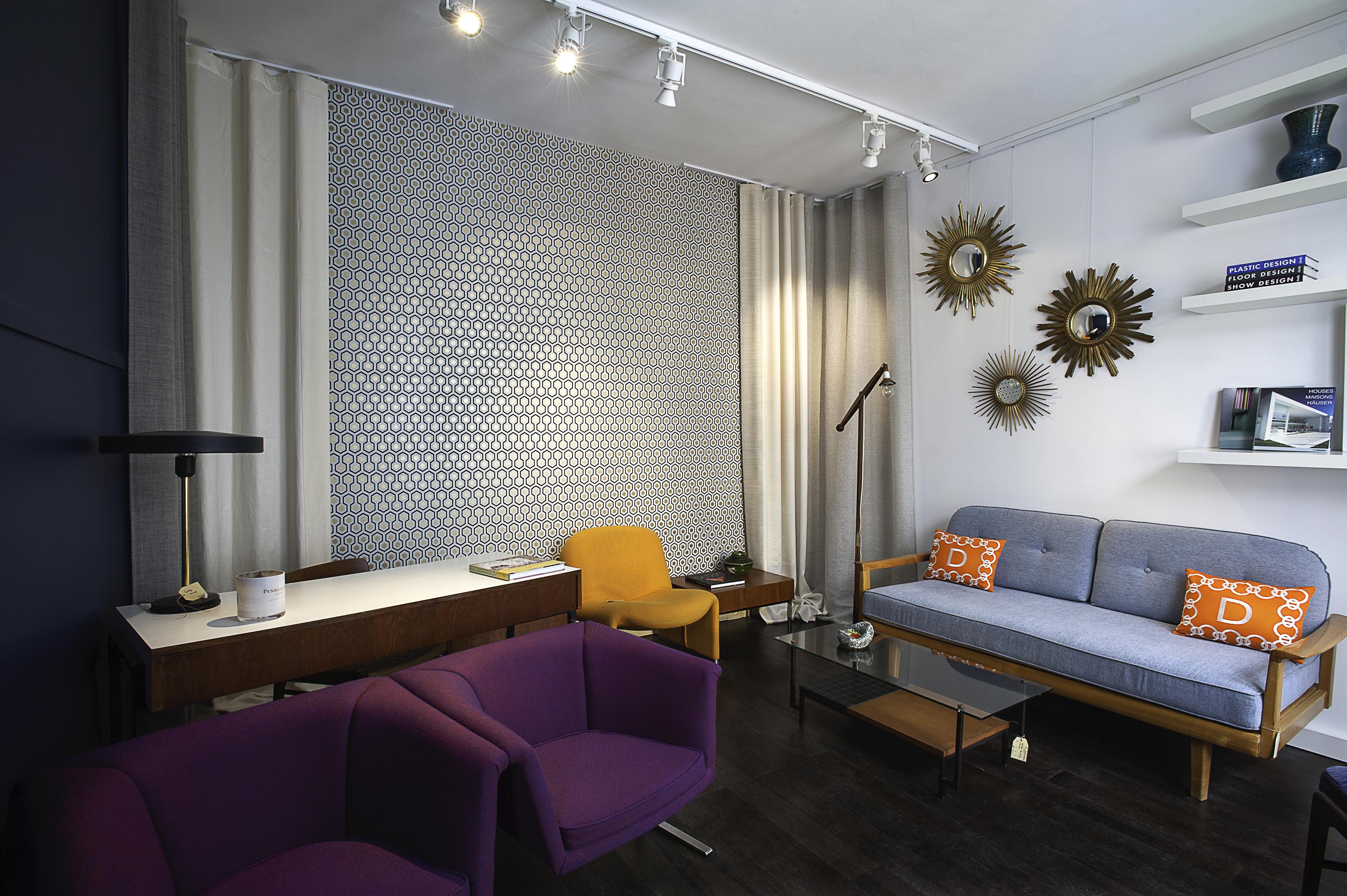 Cabinet 2d un show room de meuble vintage au coeur de paris - Cabinet d architecture d interieur paris ...
