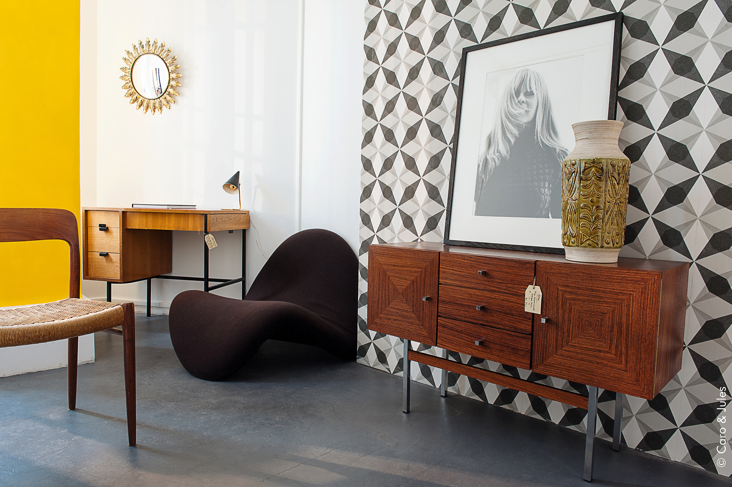 Cabinet 2d un show room de meuble vintage au coeur de paris - Boutique meuble vintage paris ...