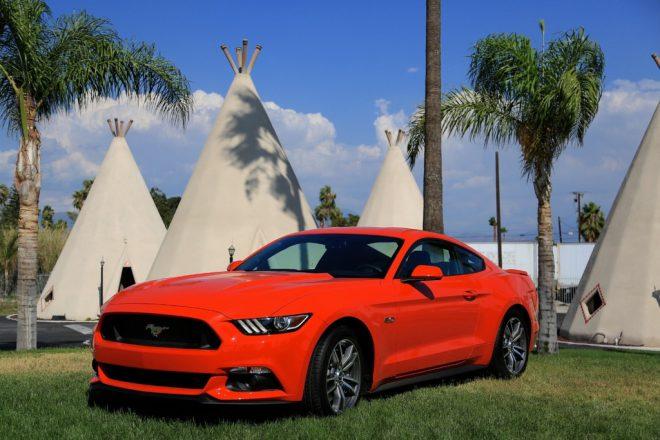 La Ford Mustang 2015 - 1