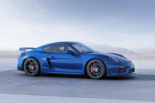 Porsche Cayman GT4 - 3