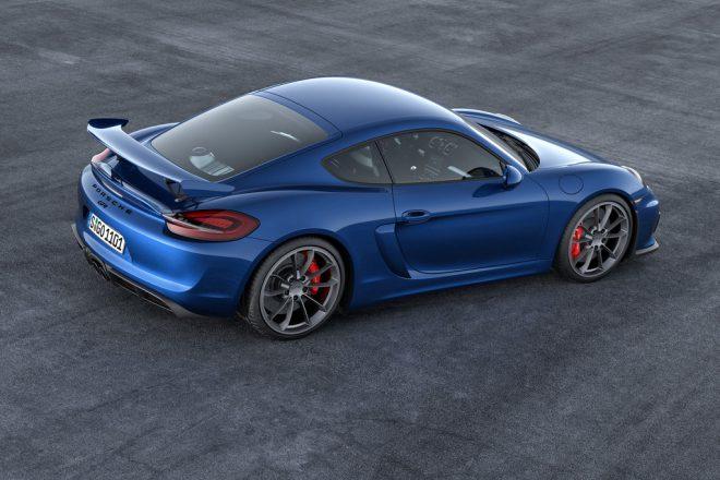 Porsche Cayman GT4 - 4