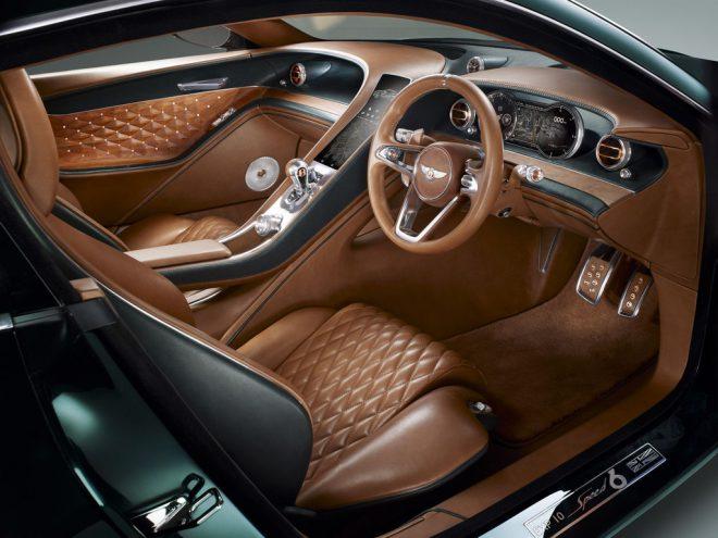 Genève 2015 : Bentley coupé 2 place EXP 10 Speed 6 Concept - 11