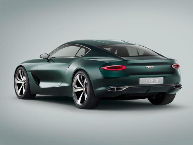 Genève 2015 : Bentley coupé 2 place EXP 10 Speed 6 Concept - 3