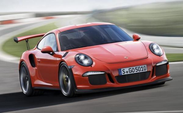 Genève 2015 : Porshe 911 GT3 RS - 1