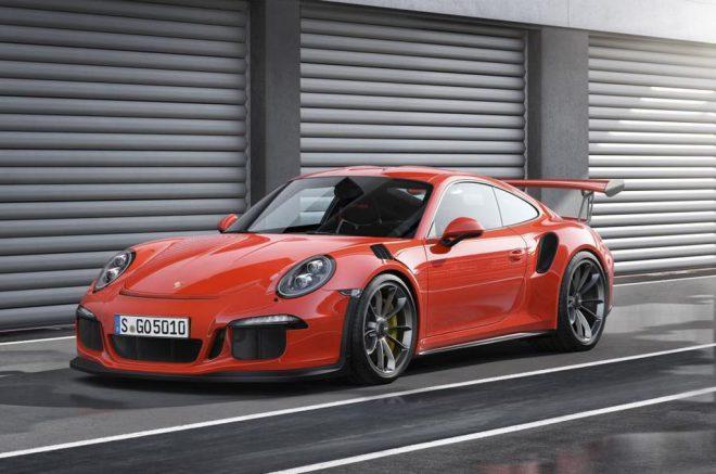 Genève 2015 : Porshe 911 GT3 RS - 4