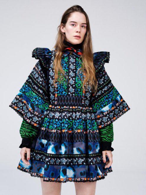 Robe de la nouvelle collection H&M x Kenzo