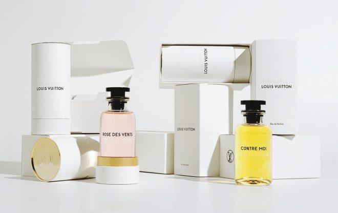 La nouvelle collection de parfums pour femme Louis Vuitton.
