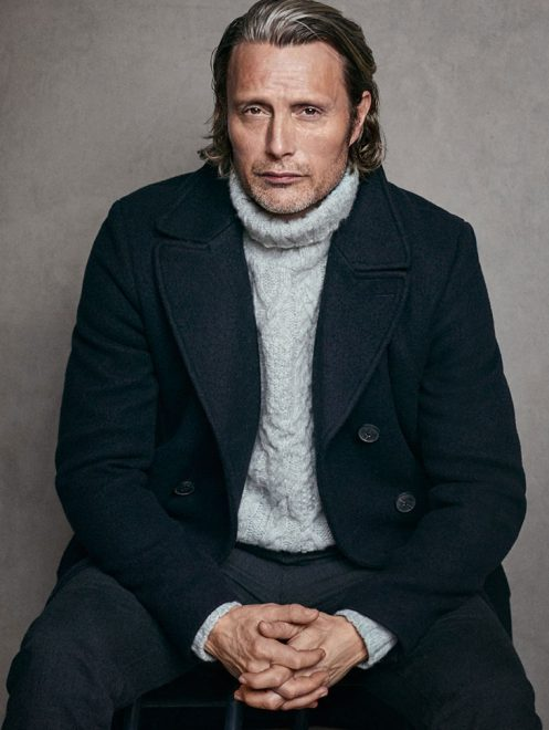 Mads Mikkelsen pour la collection Homme de Marc O'Polo