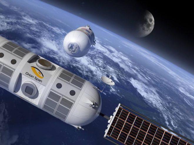 Hôtel de luxe dans l'espace en 2022