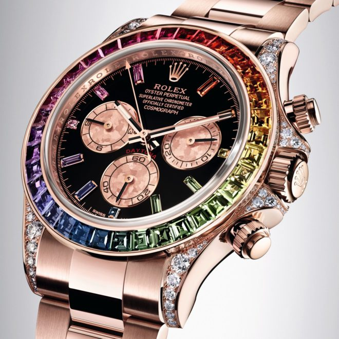 Oyster Perpetual Cosmograph Dayton Rainbow_Rolex