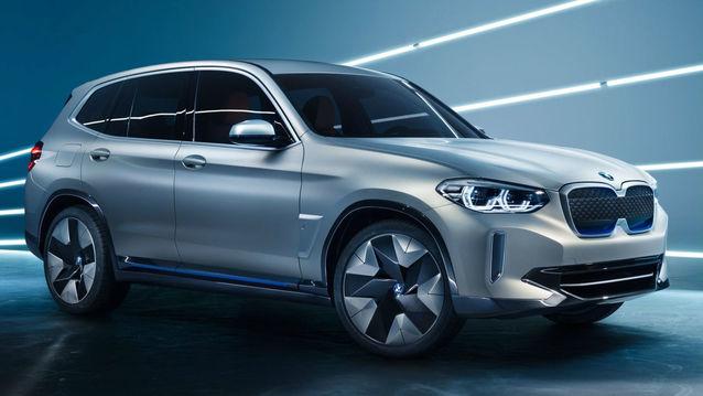 iX3 100 % électrique de BMW
