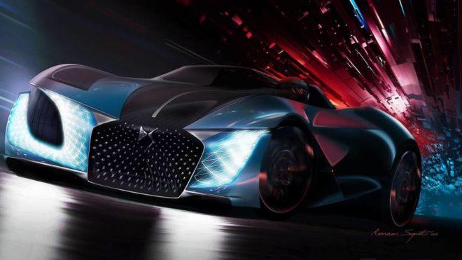 Concept-car DS X E-Tense