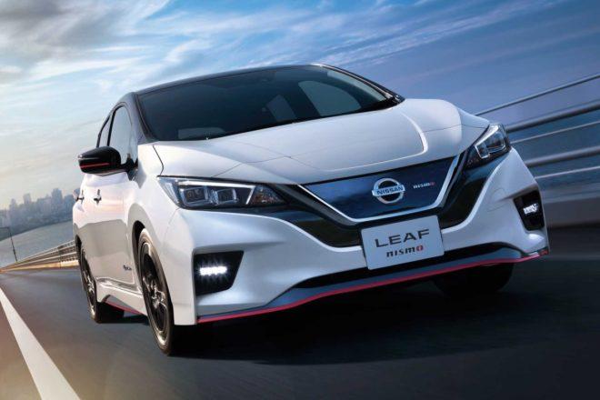 Nismo de la Leaf de Nissan