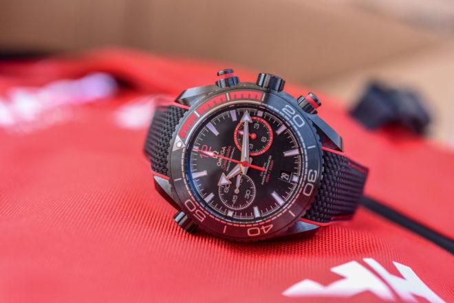 Seamaster Planet Ocean Deep Black « Volvo Ocean Race » d'Omega