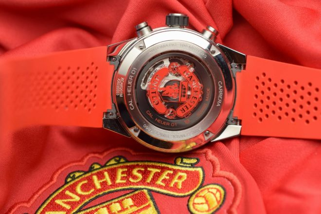 Carrera Heuer 01 Manchester United Special Edition Tag Heuer