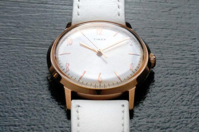 Version féminine pour la Marlin de Timex