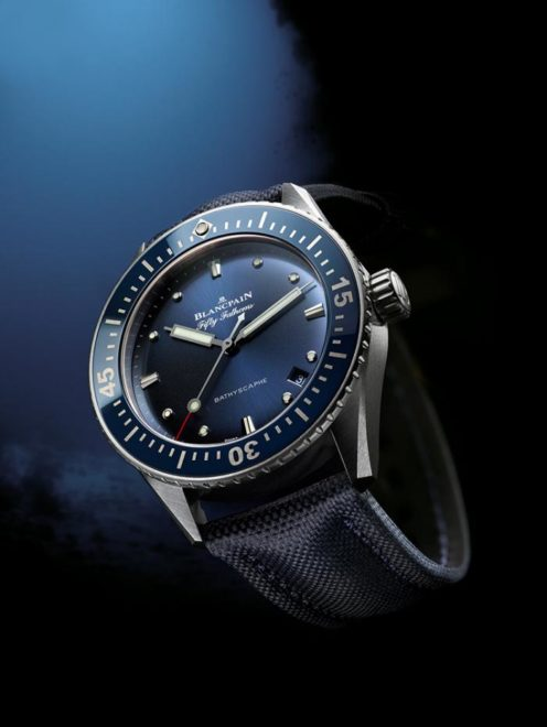Fifty Fathoms Bathyscaphe Bleu Blancpain