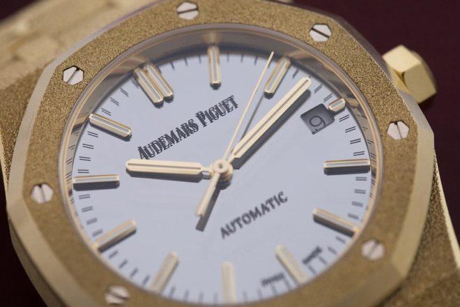 Royal Oak Frosted Gold Audemars Piguet revisitée