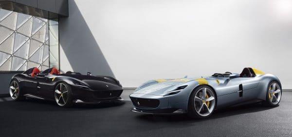 Monza SP1 et SP2 Ferrari