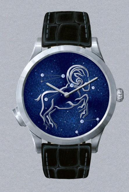 Midnight Zodiac Lumineux Watch_Van Cleef & Arpels