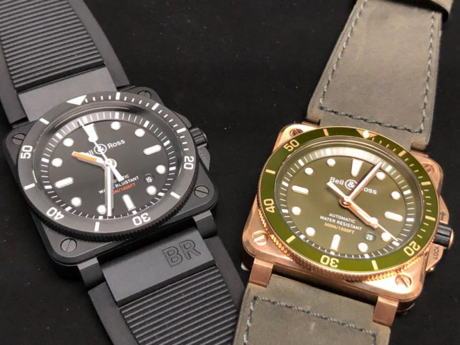 Bellytanker Bronze Bell & Ross
