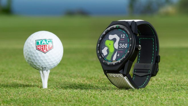 Connected Modular 45 Golf Edition TAG Heuer