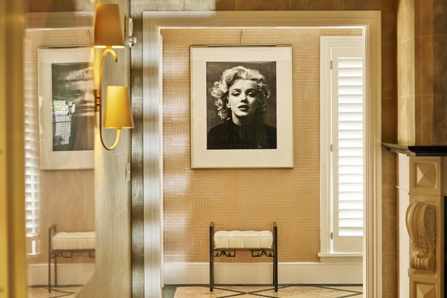 bungalow hollywoodien inspiré de la star Marylin Monroe