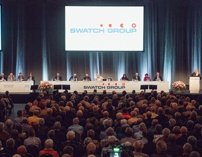 Swatch Group -Louvre
