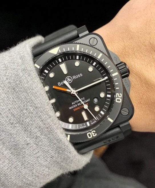 BR 03-92 Diver Black Matte Bell & Ross