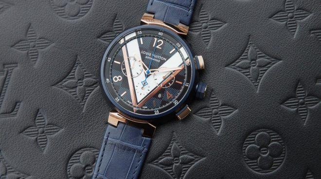 Damier Cobalt Chronographe Louis Vuitton