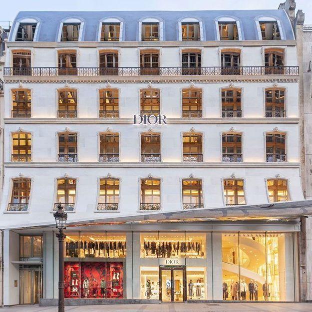 Dior aux Champs Elysées