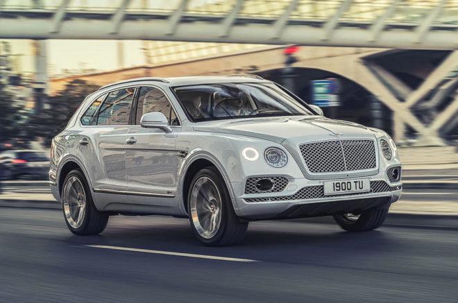 Bentley SUV Bentayga Hybrid