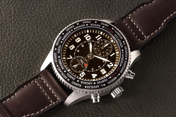 "Timezoner Chronograph Edition ""80 years flight to New York"" IWC"